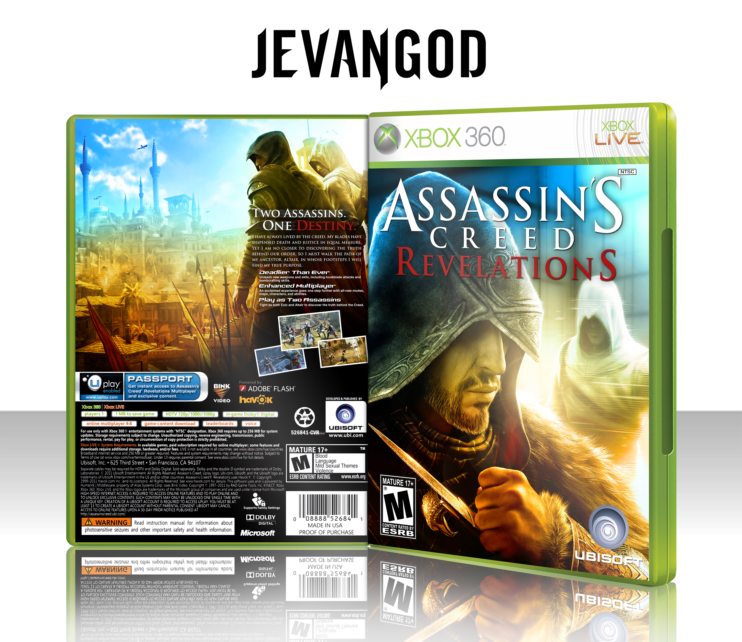 Assassins Creed Revelations box cover