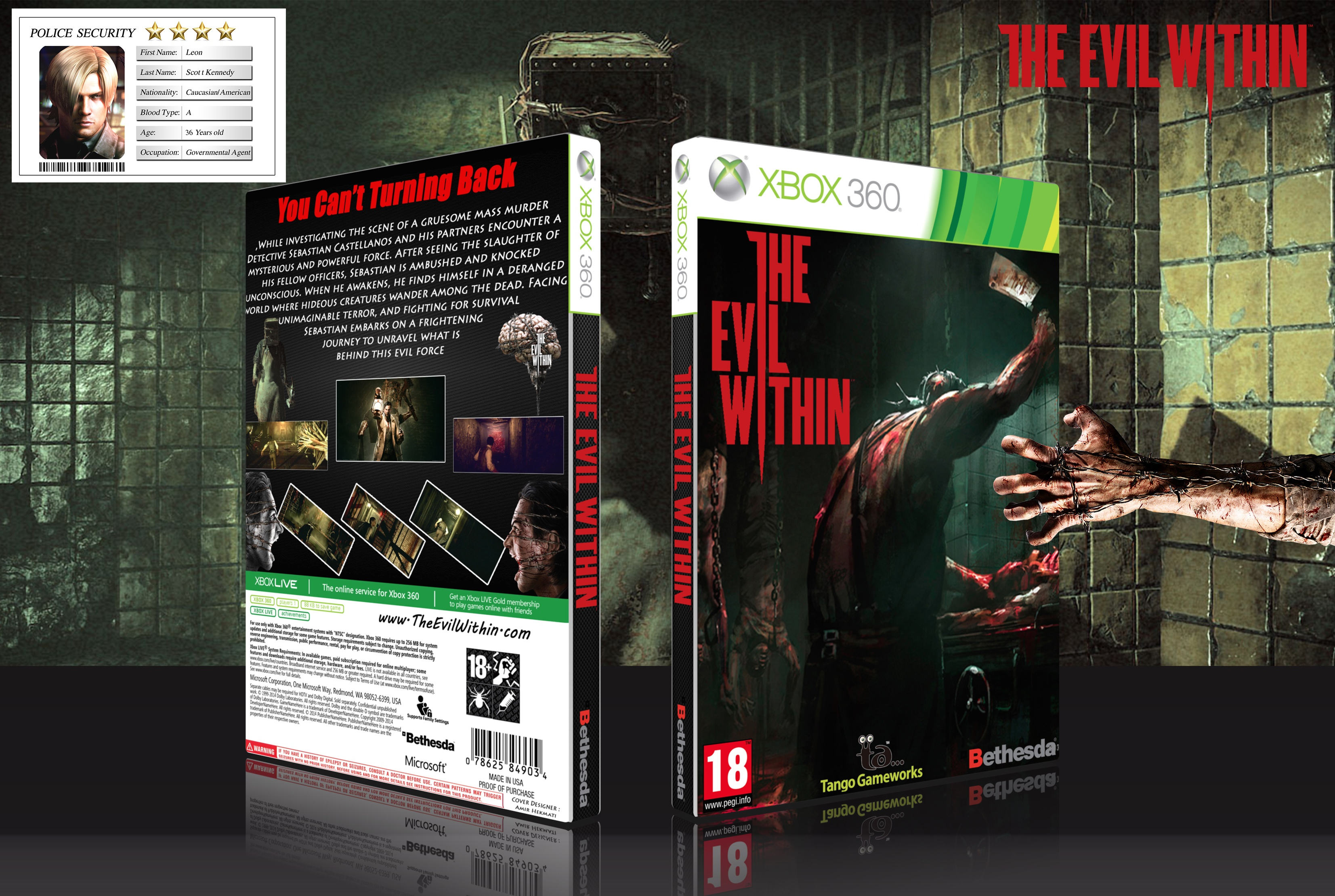The Evil Within box cover
