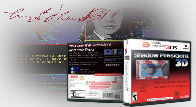 Shadow President 3D box cover
