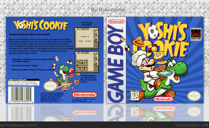 Yoshi's Cookie box art cover