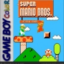 Super Mario Bros Color Box Art Cover