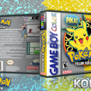 Pokemon Yellow Box Art Cover