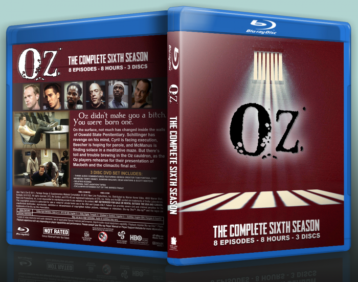 Oz Season Six box art cover