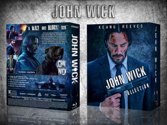 John Wick Collection box art cover