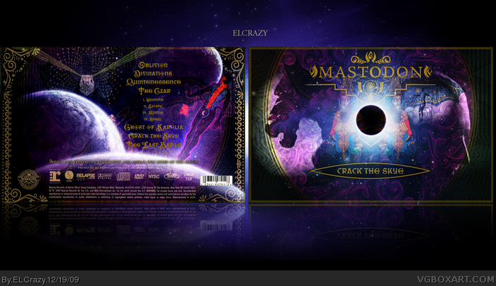 Mastodon: Crack the Skye box art cover