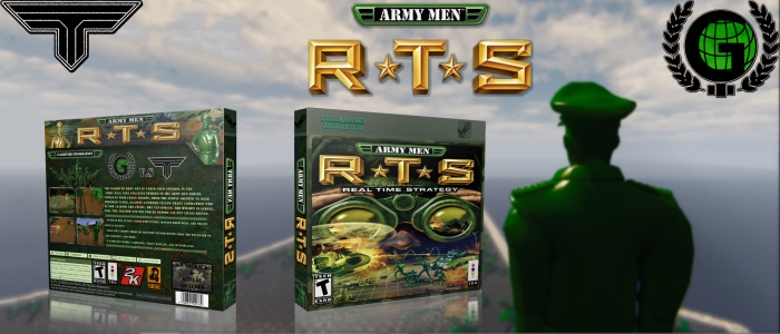 Army Men: RTS box art cover
