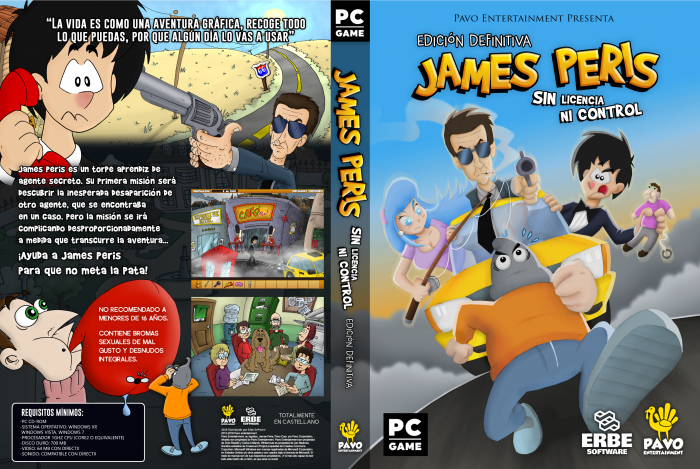 James Peris box art cover