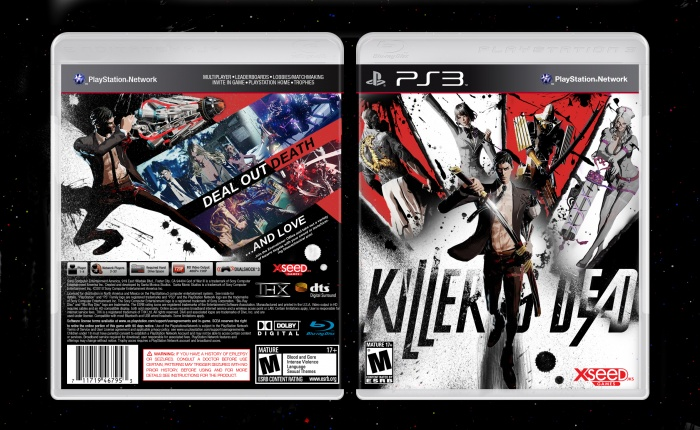 Killer is Dead box art cover