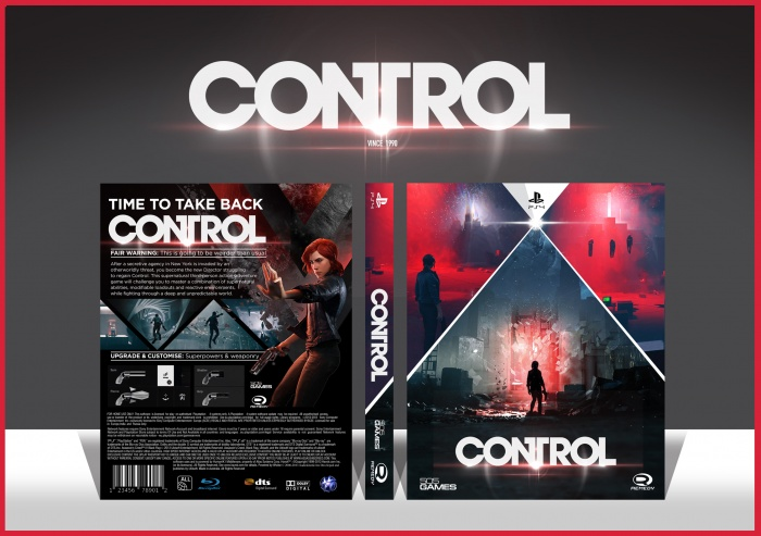 Control box art cover
