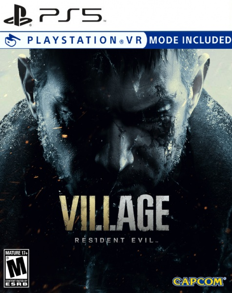 Resident Evil Village box cover