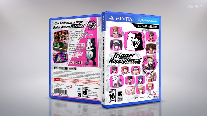Danganronpa: Trigger Happy Havoc box art cover