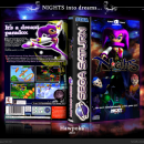 NiGHTS into Dreams... Box Art Cover
